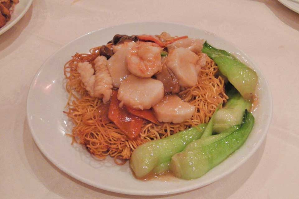 Noodles con seafood_Imperial China London