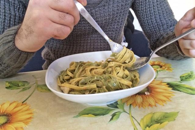 Pasta col cucchiaio