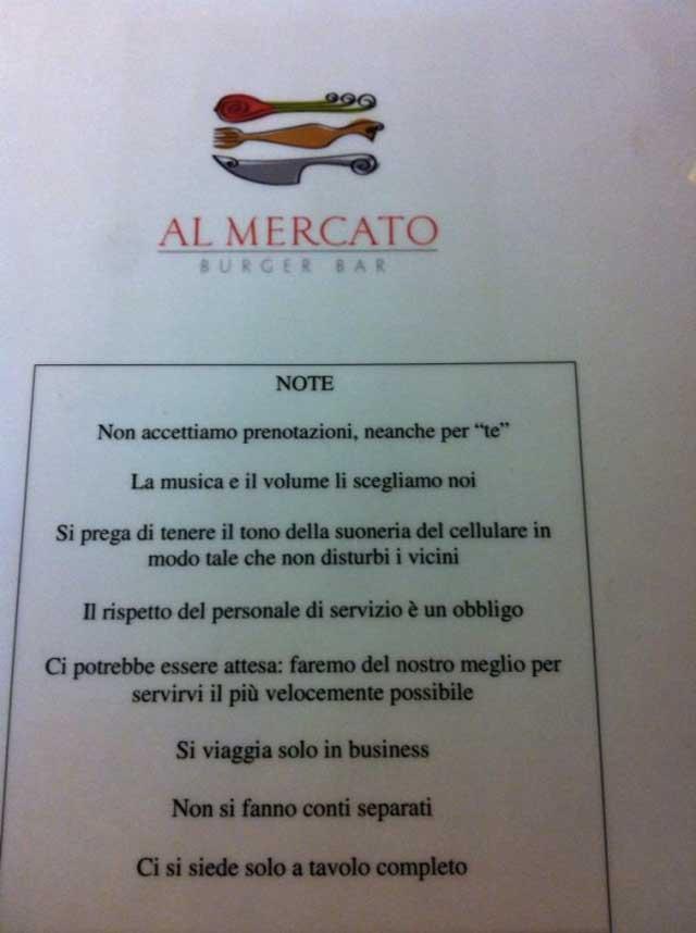 Regole Al Mercato
