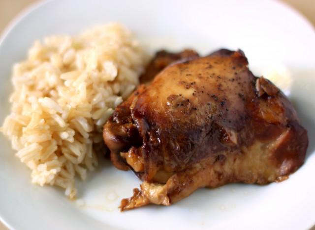 adobo pollo con riso