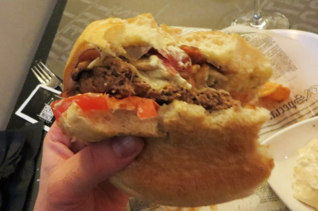 hamburger red mountain