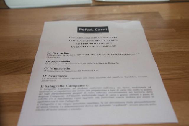 menu carne Eccellenze Campane