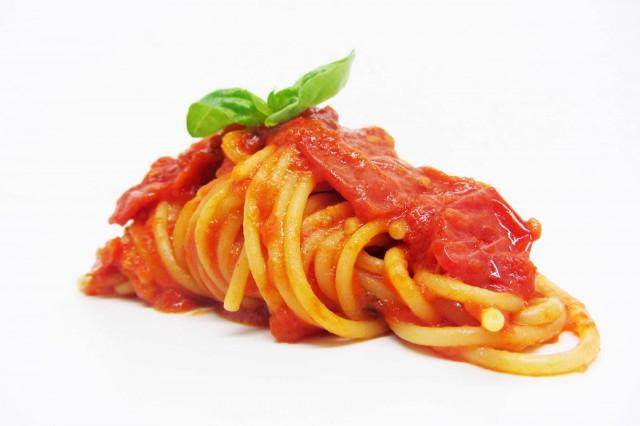 spaghetti pomodoro Gennaro Esposito