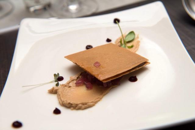 wafer foie gras