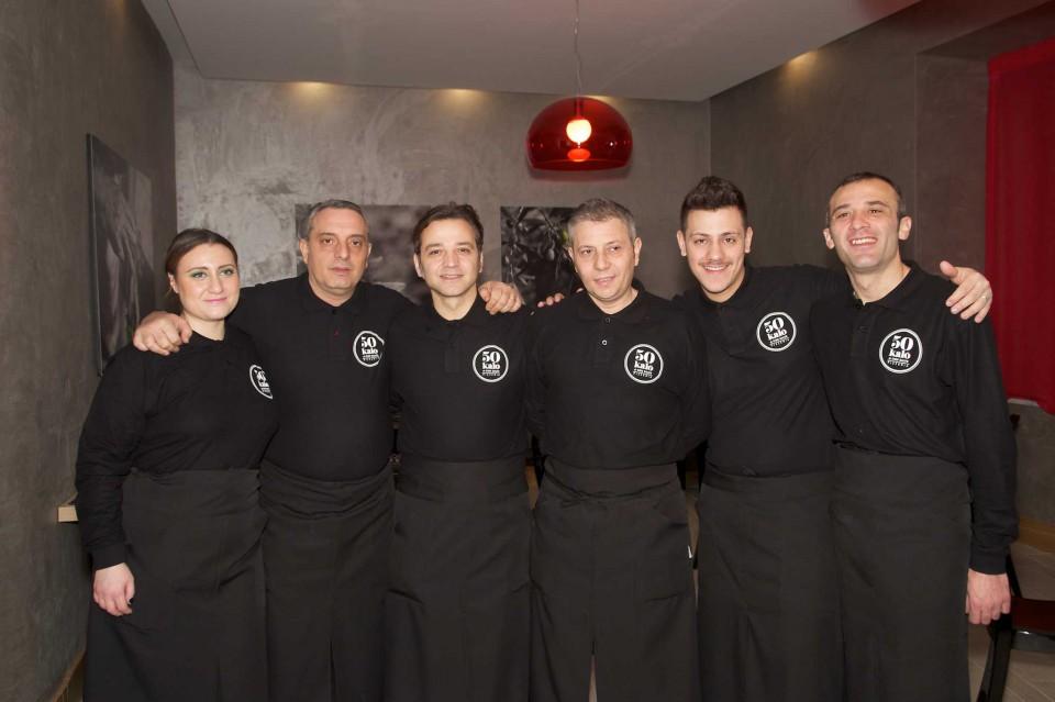 50 kalò Napoli squadra
