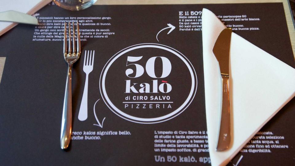 50 kalò Napoli tovaglietta