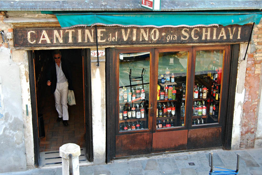 cantinone già schiavi bacaro Venezia