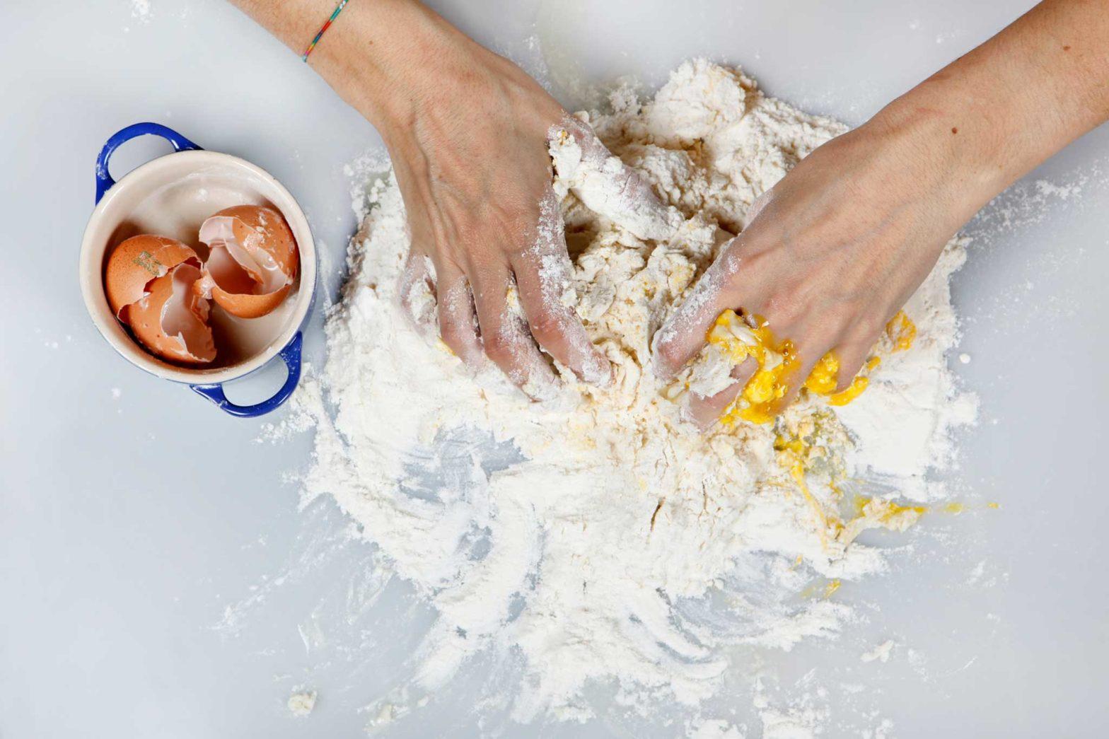 Chiacchiere gonfie sal de riso