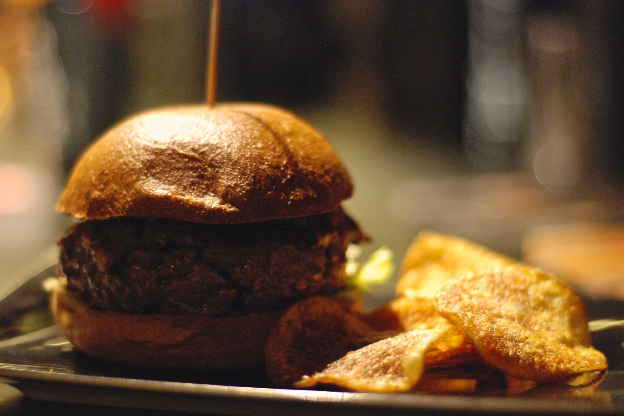 Lambiczoon, hamburger
