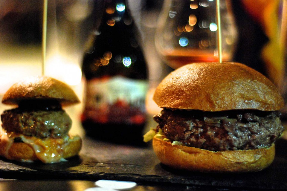 hamburger piccolo e grande classico