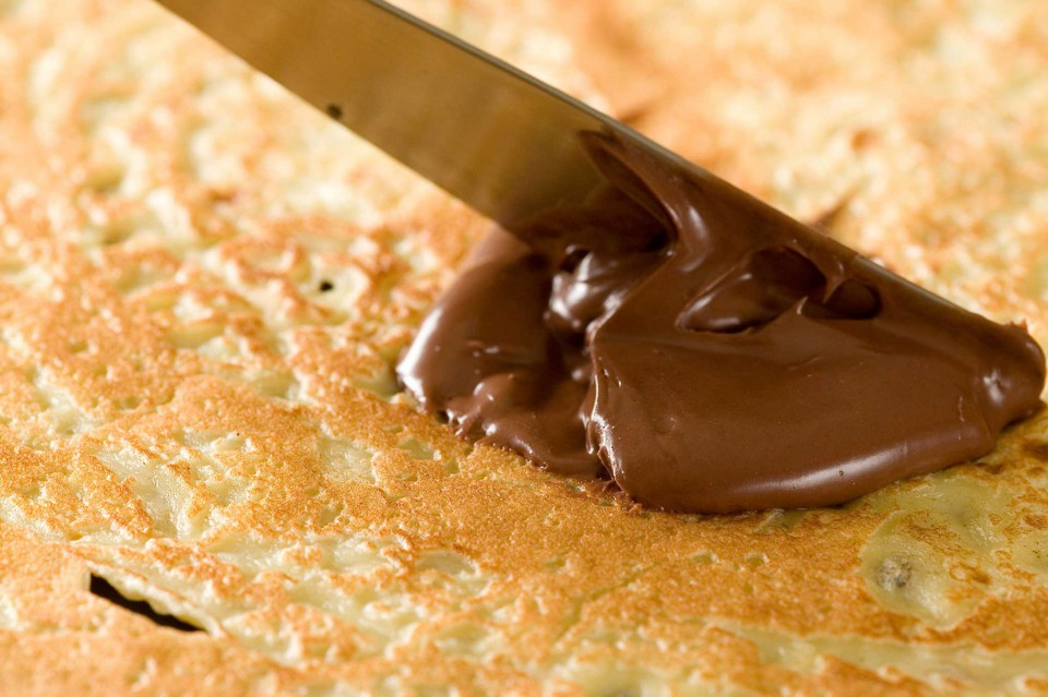 nutella e crepes