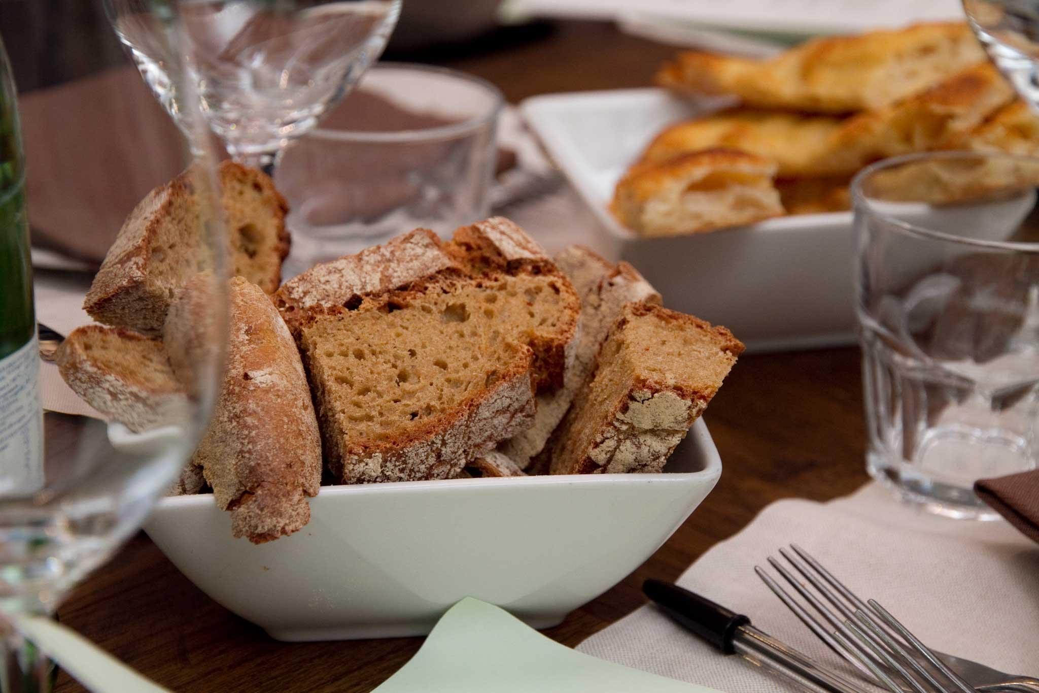 pane del forno Roscioli