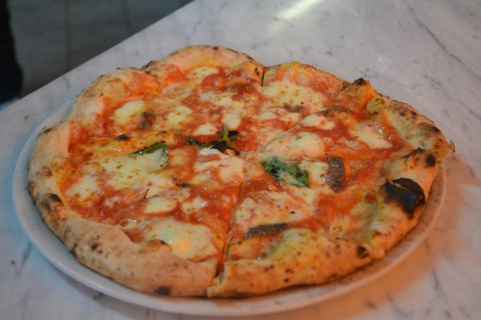 pizza margherita Pasqualino Rossi