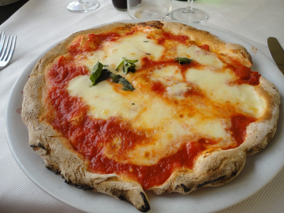 pizza margherita celiaci Ciro a Santa Brigida