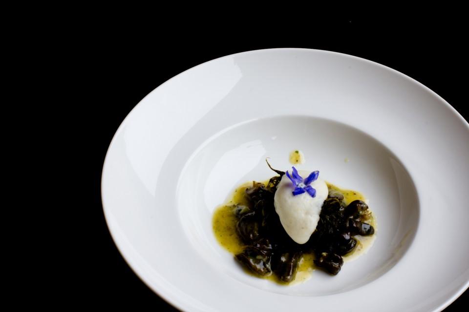 polenta, lumache
