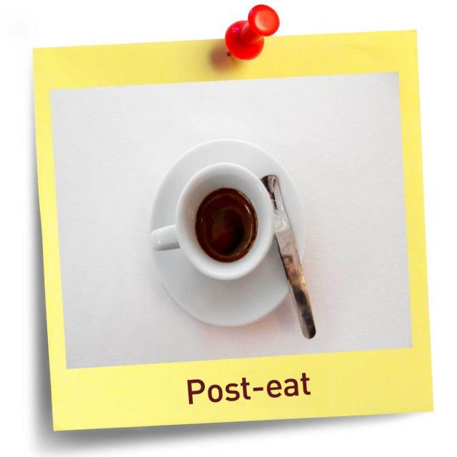 post eat caffè tazzina
