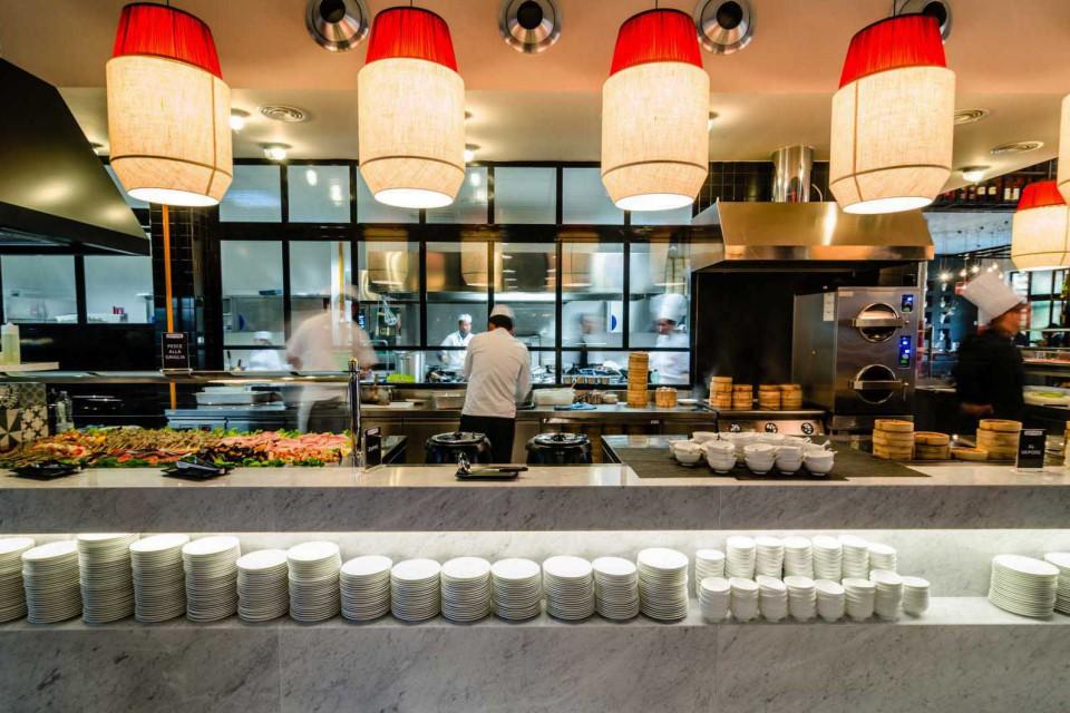 ristorante orientale self service La Dogana Roma