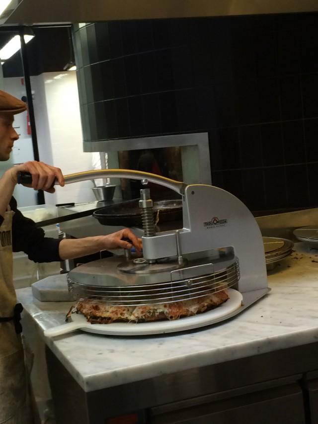 spontini pizza porzionatrice