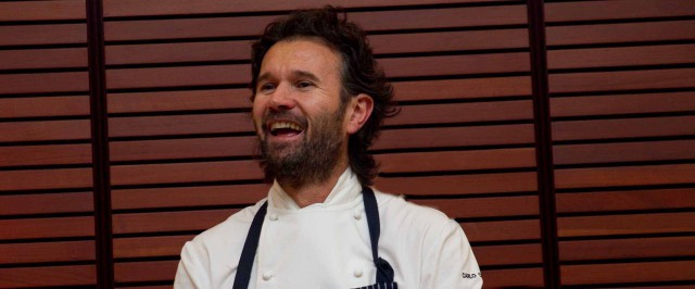 Carlo Cracco al ristorante