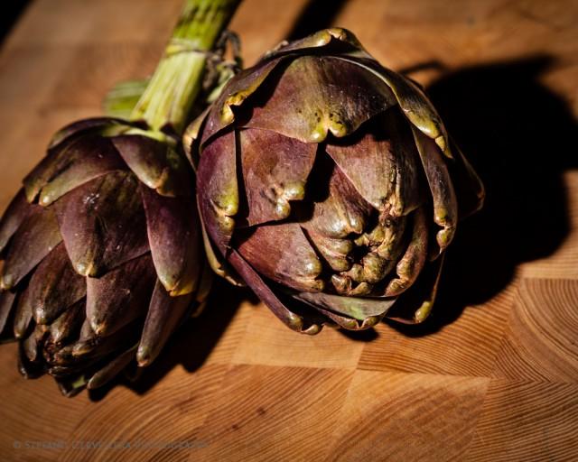 carciofo violetto di Toscana