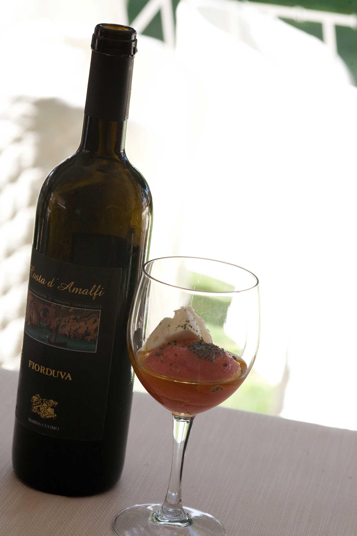 fior d'uva Marisa Cuomo mozzarella