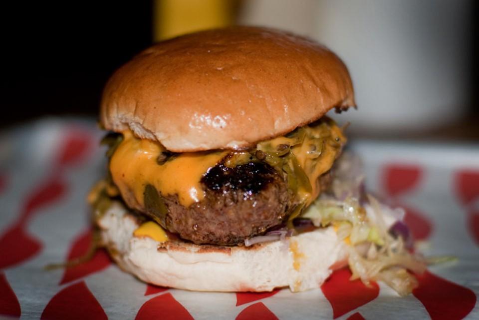 hamburger MeatLiquor