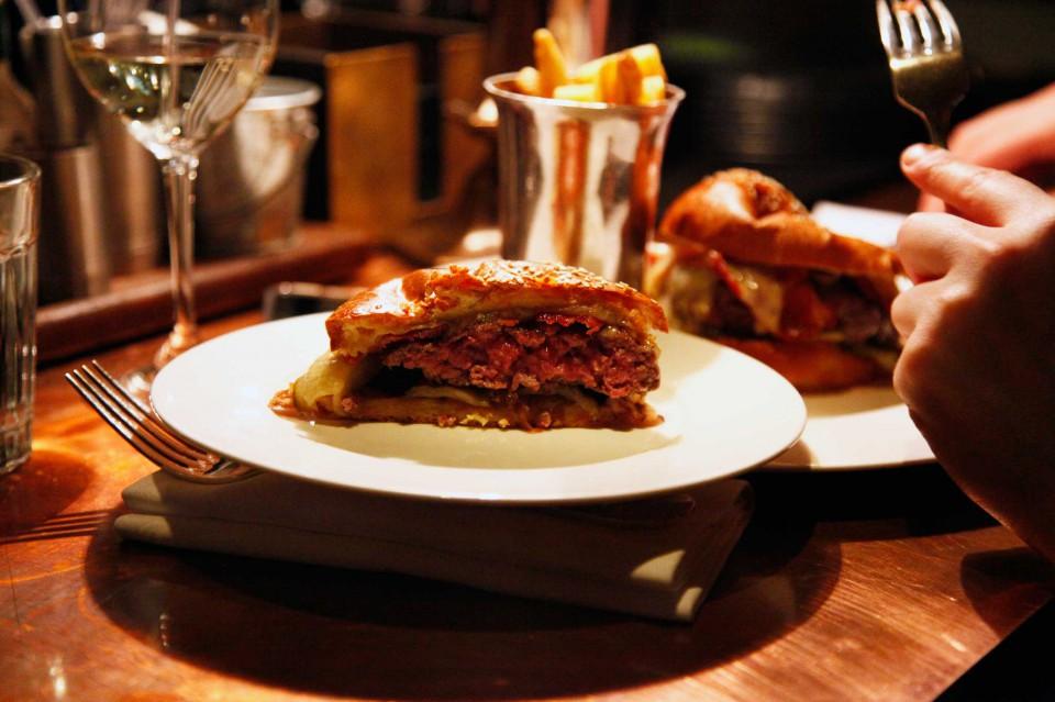 hamburger taglio