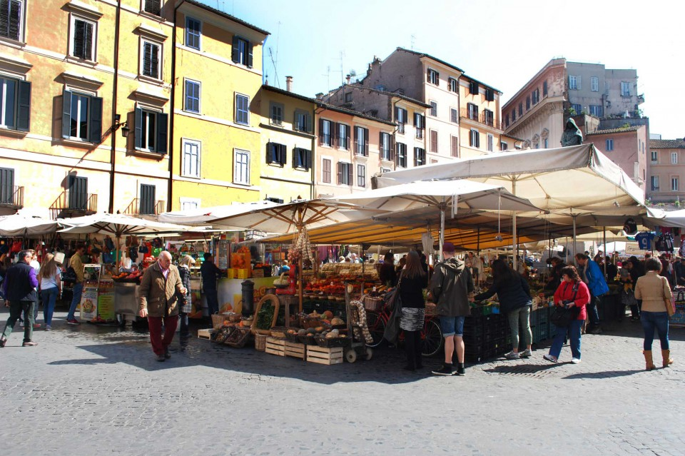 mercato Campo de Fiori