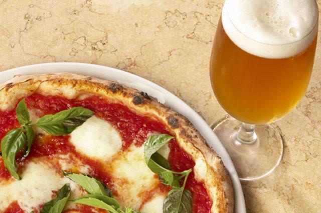 pizza birra