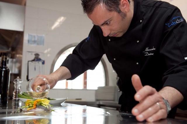Alessandro Dentone chef