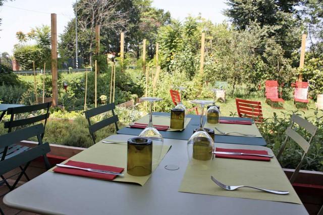 Milano. 10 ristorant con giardino per mangiare all\'aperto