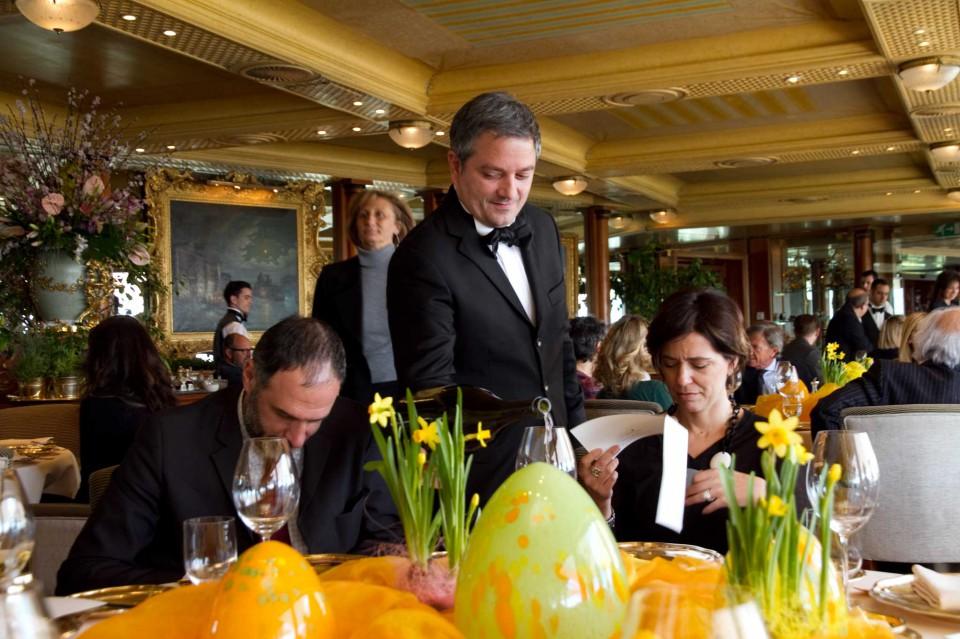 Heinz beck festeggia il ristorante la pergola con un menu for La pergola roma prezzi