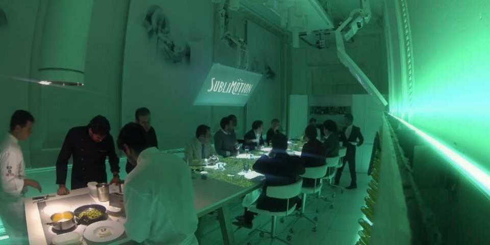 Sublimotion ristorante Spagna