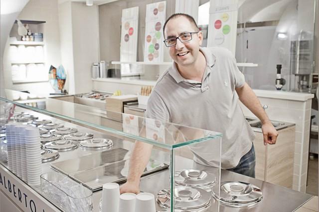 gelateria artigianale Alberto Marchetti