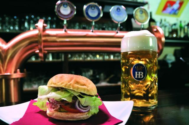 hamburger birra