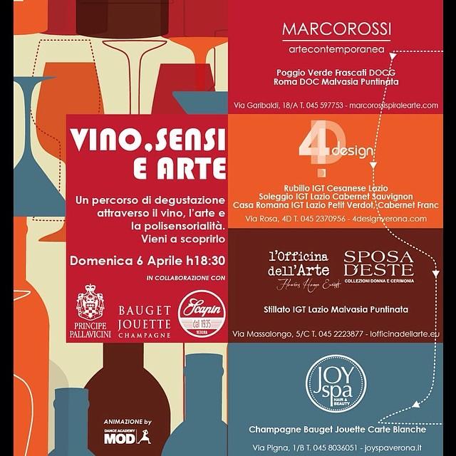 vinitaly vino sensi arte