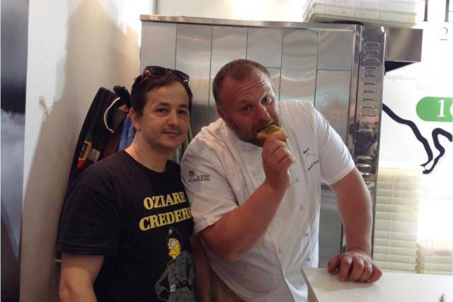 Gabriele Bonci con lo Stekkopizza