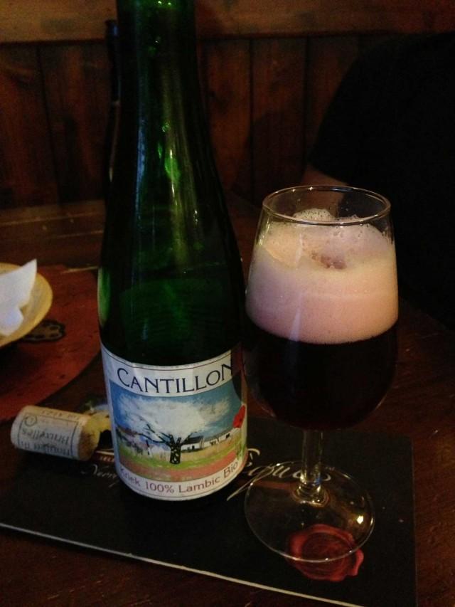 Cantillon Kriek lambic bio