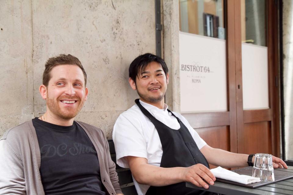 Bistrot 64 Emanuele Cozzo e Kotaro Noda