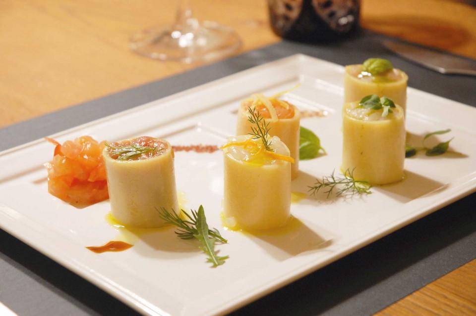 Parini 1915 Sushi di paccheri