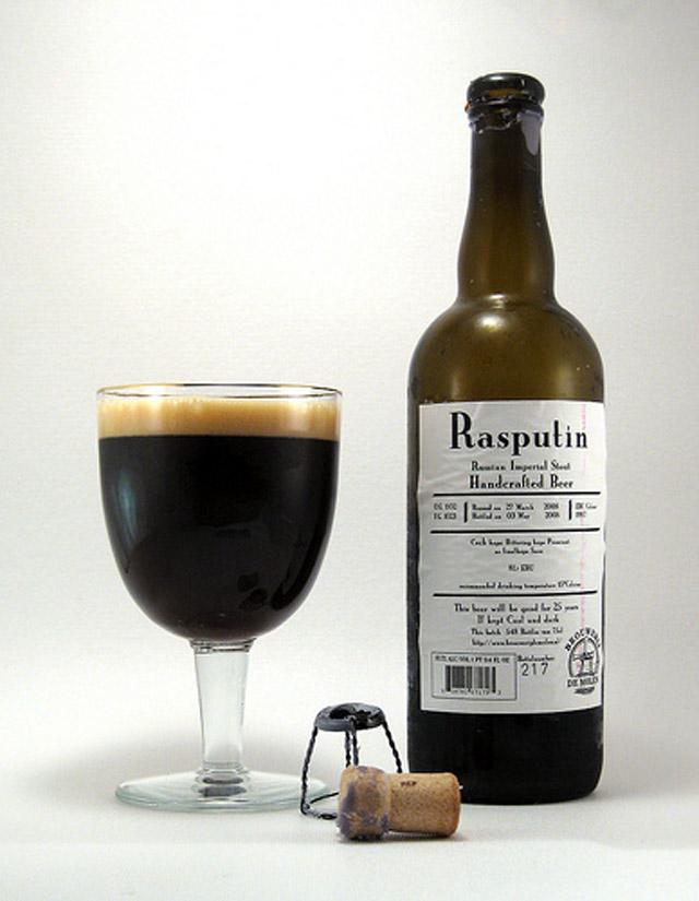 Rasputin de molen stili di birra
