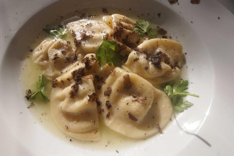 Ravioli e tartufo