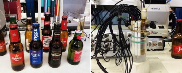 birra degustazione robot