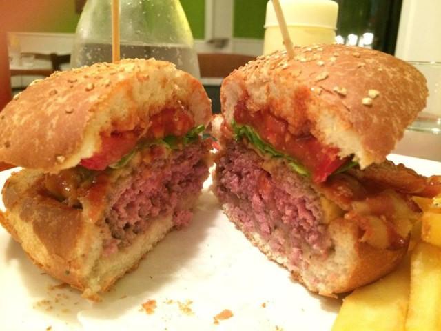buffalo hamburger
