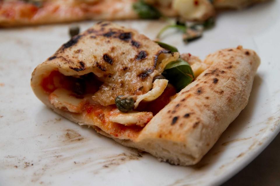 fetta pizza piegata