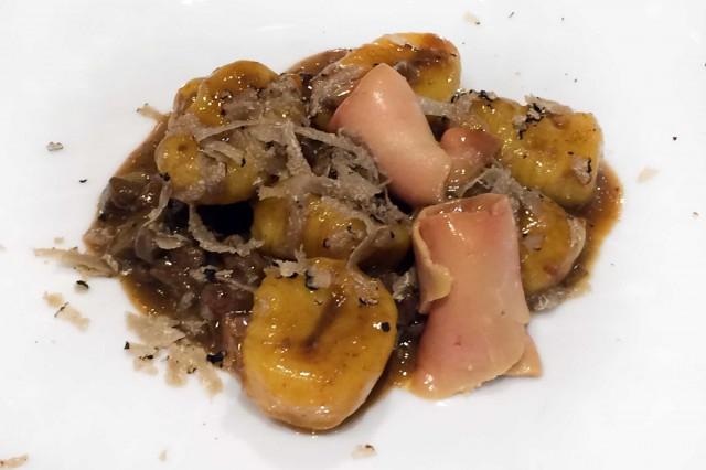 gnocchi zafferano foie gras