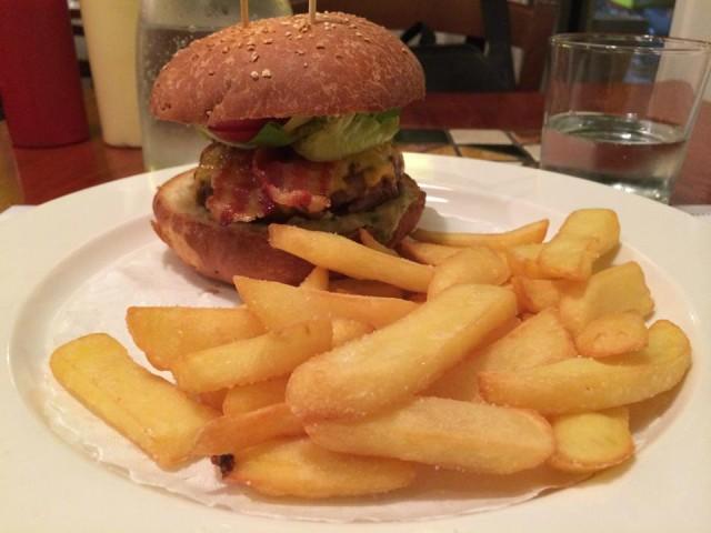 hamburger buffalo