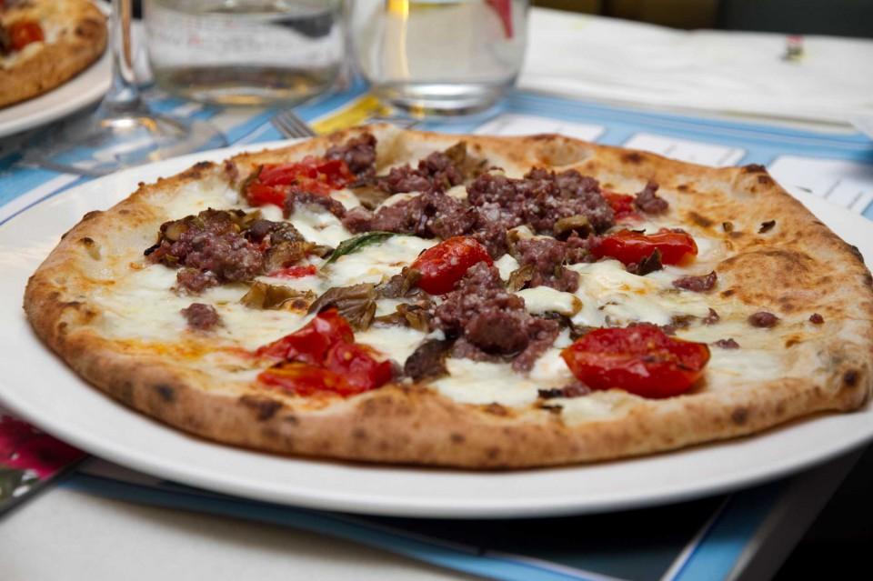 pizza Contadina Coccia