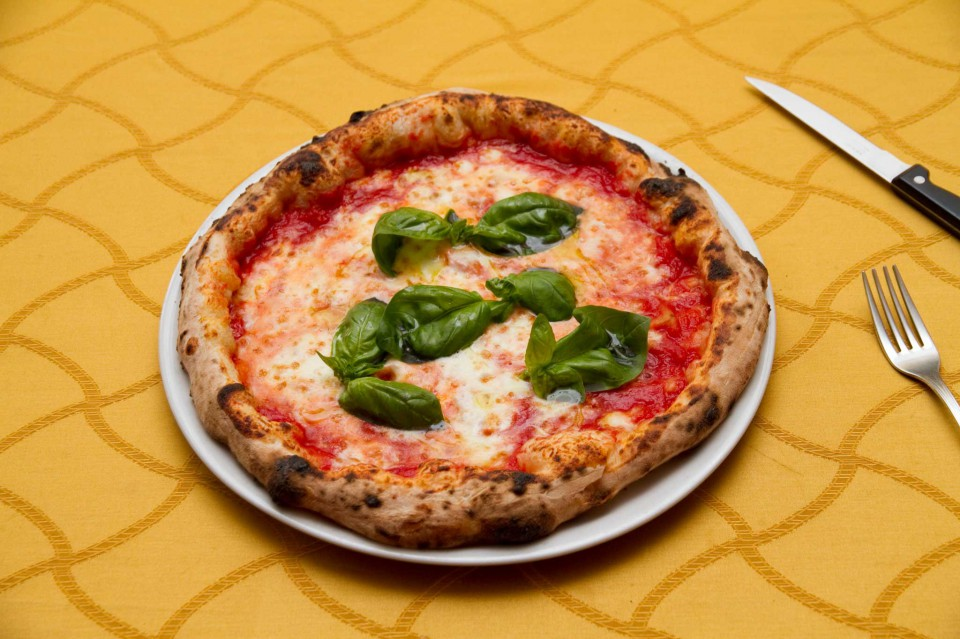 pizza margherita da Pasqualino Rossi