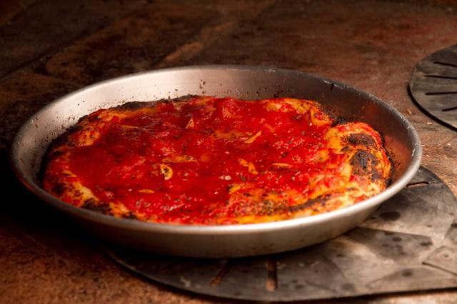pizza nel ruoto